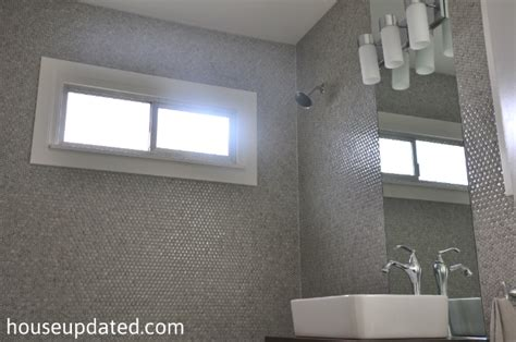 how to put tile on wall in bathroom tips for how to install penny tile house updated