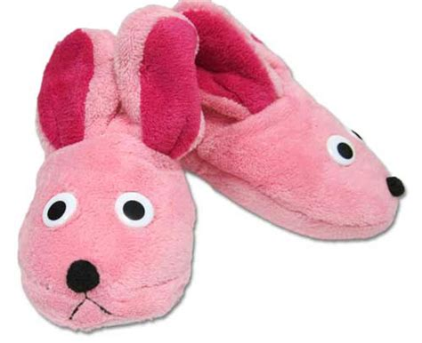 bunny house shoes a christmas story deluxe bunny slippers from aunt clara