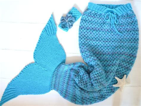 mermaid knitting pattern mermaid blanket sizes by matildasmeadow craftsy