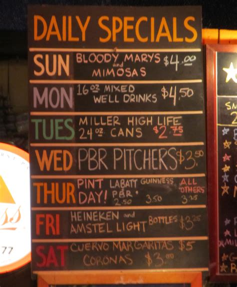 special ideas bar specials part 1 the other place and el gato tea