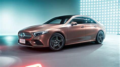 Mercedes Sports Sedan by 2019 Mercedes A200 L Sport Sedan 4k 4 Wallpaper Hd