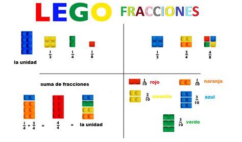 imagenes matematicas de fracciones lego fracciones orientaci 243 n and 250 jar recursos educativos