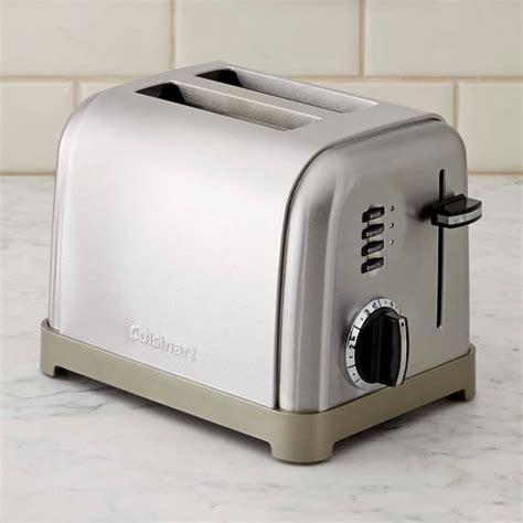 Metal Toaster Cuisinart 2 Slice Metal Classic Toaster Williams Sonoma