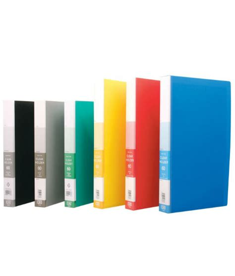 Clear Holder Vividus 60 Lembar Clear Book 60 Sheets cbe 76060 clear holder a4 non refillable 60 pocket fp media