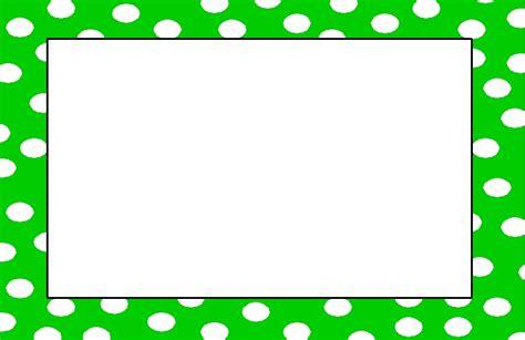 Polka dot clip art border clipart best