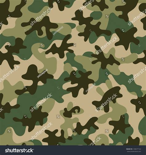 seamless army pattern camouflage seamless pattern can be used stock vector