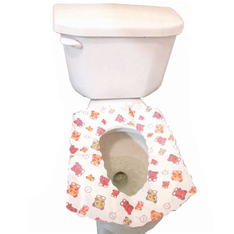disposable potty seat covers new toilet disposable potty seat cover 5 pack