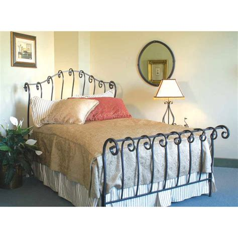 wrought iron sleigh bed 9 best images about shabby chic furniture on pinterest