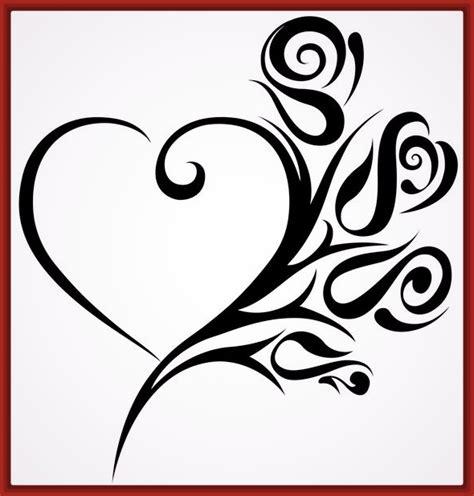 imagenes de corazones sencillos dibujos para colorear corazones y rosas jpg 590 215 618