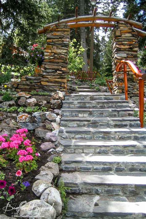 cascade gardens the beaten path in banff banffandbeyond