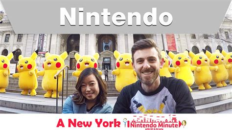 the dating game the new york review of video games nintendo minute visits new york for pokemon day
