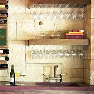 Bar Glass Storage Ideas Design Ideas For Wine Storage And Tasting Bar Areas