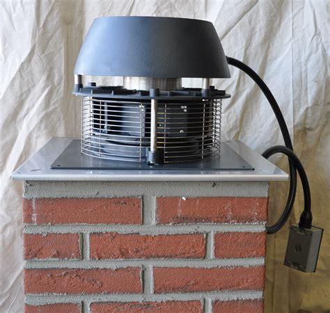 chimney fan for fireplace enervex exhausto efh 200 fan 600 cfm inducer fan for gas
