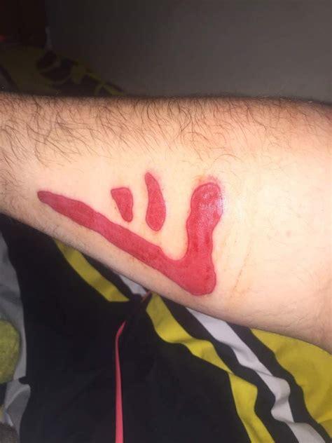 mark of cain tattoo my new the of cain supernatural amino