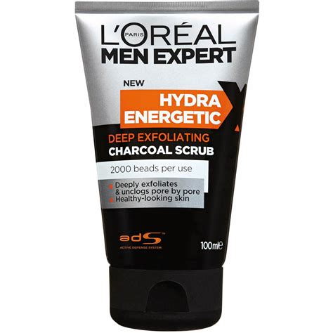 Shoo Loreal Expert loreal expert hydra energetic charcoal scrub 100ml catch the deal