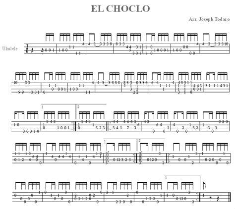 Tab El El Choclo For Ukulele