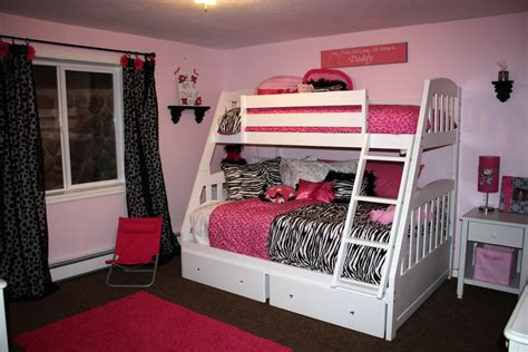 red black and white teenage bedroom teens girls bedroom interior design ideas with white bunk
