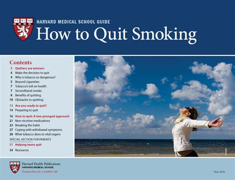 How To Detox From Quit Smokeing by How To Quit Harvard Health