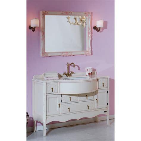 mobili bagno shabby chic on line mobile bagno shabby chic top in marmo con di specchio ed