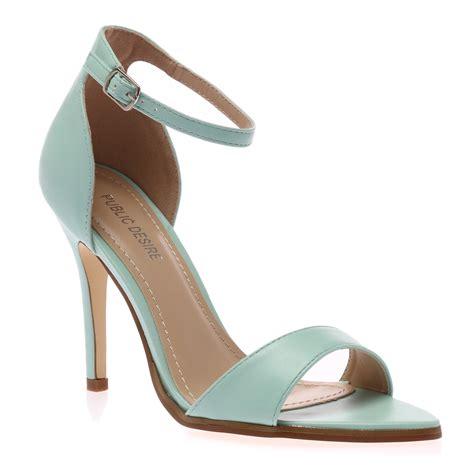 stiletto heel buckle womens peep toe ankle