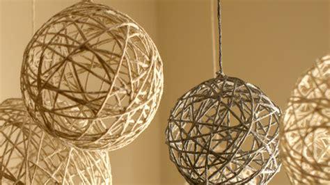 string decorations diy string ornaments and lanterns