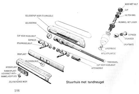 buitenboordmotor reviseren 2cv stuurinrichting techniek