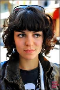 wave hair with bangs curly hair how to make short hair with bangs short hair
