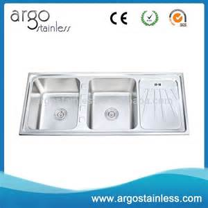 stainless steel portable kitchen sink unit with
