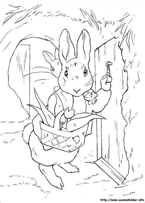 benjamin bunny coloring pages peter rabbit malvorlagen
