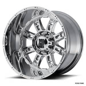 Truck Wheels With High Offset Xd 809 Riot 20x9 8 Lug Chevy Ford Dodge Wheel Chrome High