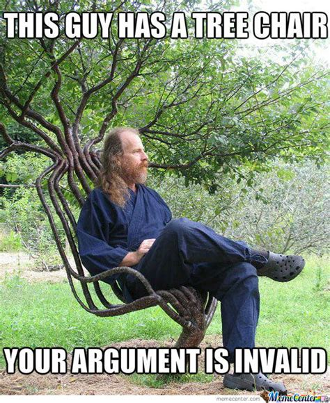 Tree Meme - tree chair by porrige5 meme center