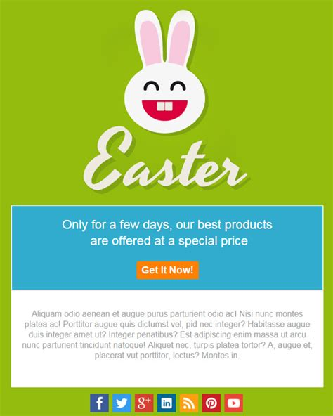 easter email templates easter email template images