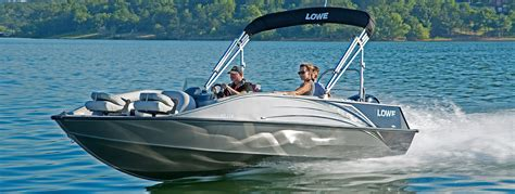 deck boat with fishing package lowe 2018 deck boats aluminum fishing runabout boat