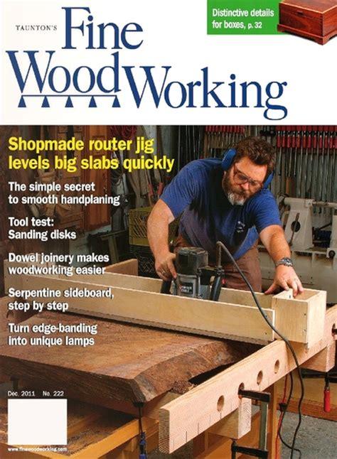 fine woodworking december    magazine