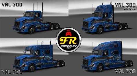 volvo truck shop volvo vnl 780 truck shop v3 0 ats 1 6 x by frank brasil