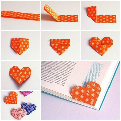How To Make A Cool Origami Bookmark - wonderful diy unique origami bookmark