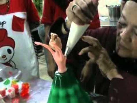 cara membuat boneka jajanan pasar cara membuat pudding bentuk boneka barbie youtube