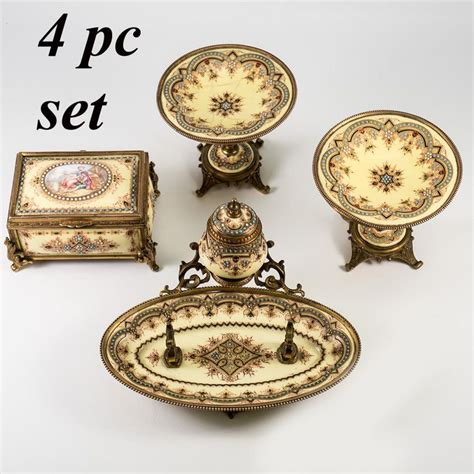 Ribbon Pearl Slop 183 best images about antique inkwell writer s set wax seal slope on