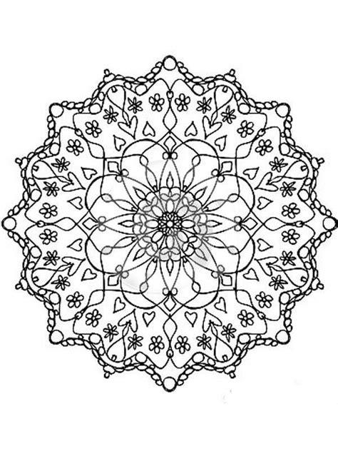 imagenes flores relajantes pintando y coloreando mandalas con flores