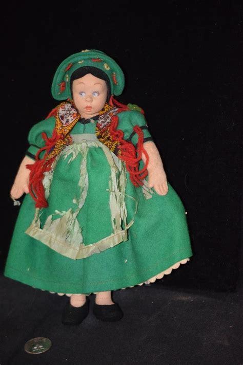 lenci mascotte doll antique doll lenci mascotte felt cloth from oldeclectics
