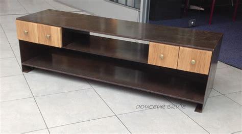 meubles tv industriel et design style loft m 233 tal et bois