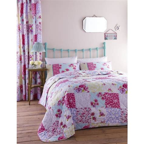 Argos Quilts by Buy Catherine Lansfield Patchwork Bedspread At Argos