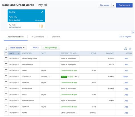 quickbooks tutorial notes paypal to quickbooks tutorial moneythumb