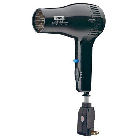 Conair Hair Dryer Q conair 169biw 1875 watt ionic cord keeper hair dryer w
