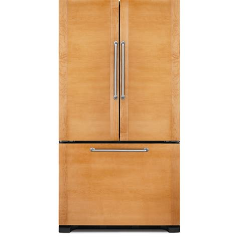 refrigerators that accept cabinet panels 72 counter depth french door refrigerator jenn air