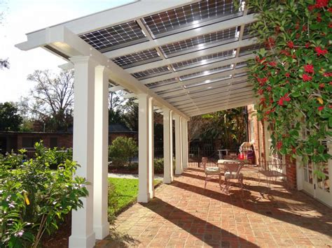 simple covered deck house inspiration pinterest the energy saving pergola with solar panels patio deck