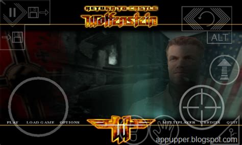 return to castle wolfenstein apk free return to the castle wolfenstein v2 0 android apk