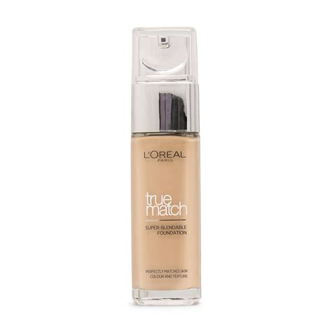 L Oreal True Match Foundation l oreal true match liquid foundation 3 r 3 c beige