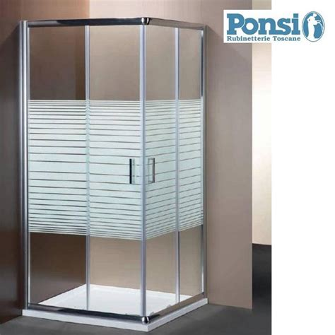 box doccia cromato box doccia ponsi sama store idraulica