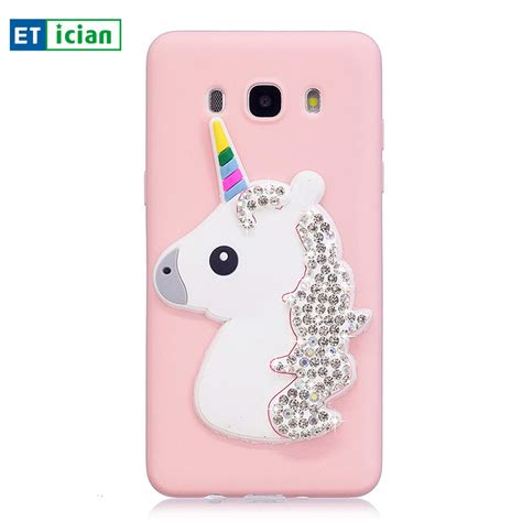 Silikon Spotlite Transparan Samsung J7 Pro for samsung galaxy j7 2016 unicorn silicone back cover for samsung j7